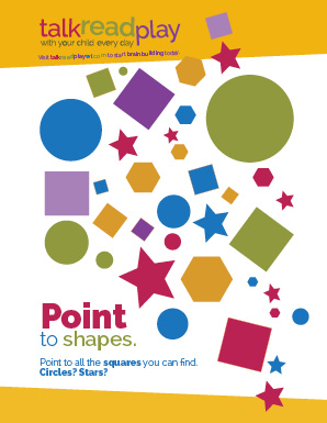 Point to shapes poster